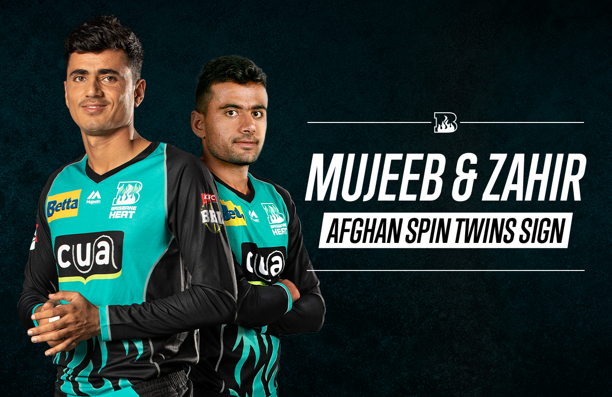 Afghan Spin Twins Sign For Bbl 09 Brisbane Heat Bbl